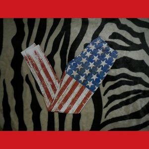 🇺🇸 American flag Leggings USA